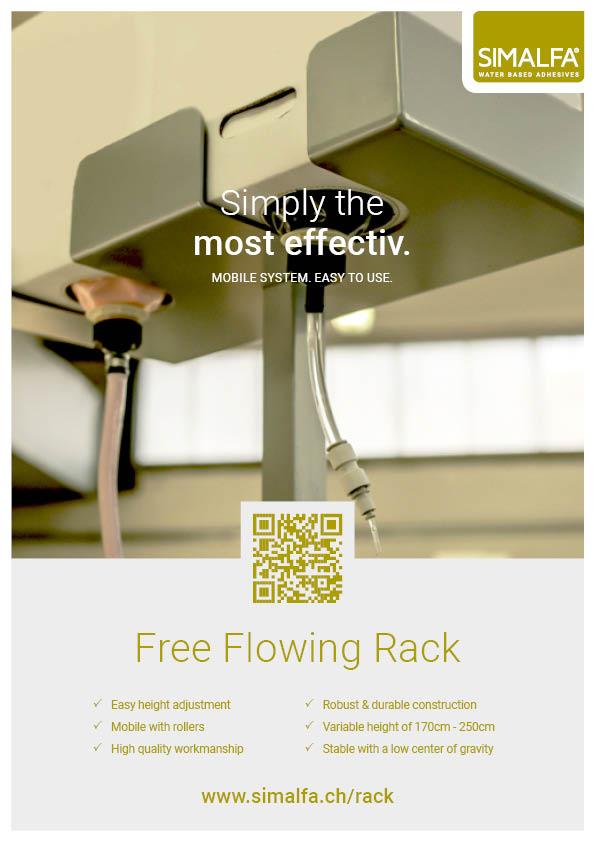 Flyer Free Flowing Rack
